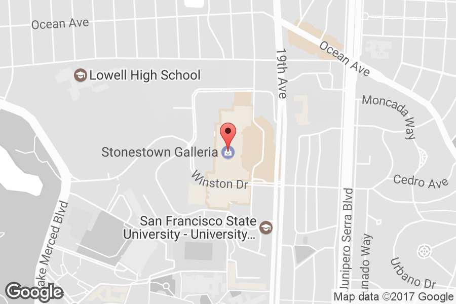 Map of Stonestown Galleria - Click to view in Google Maps
