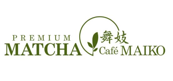 Premium Matcha Cafe Maiko Logo
